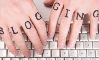 Blogga i jämn ström